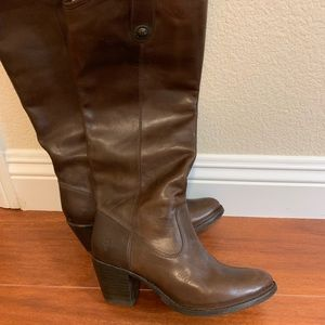 Frye knee high boots